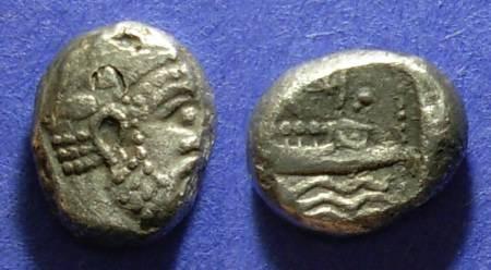 Ancient Coins - Arados, Phoenicia 380-350 BC, Tetrobol