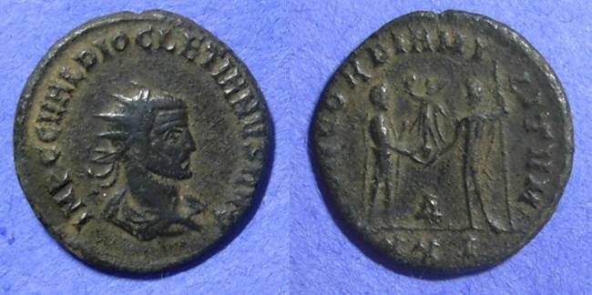 Ancient Coins - Diocletian 284-305AD Antoninianus (pre-reform)