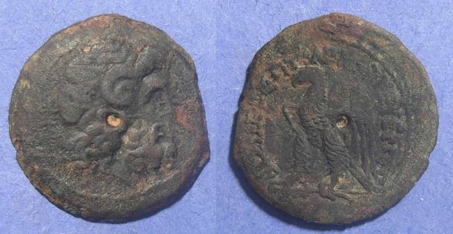 Ancient Coins - Egypt, Ptolemy VIII 145-116 BC, AE27
