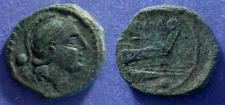 Ancient Coins - Roman Republic, Anonymous 211-206, Uncia