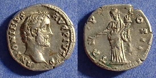 Ancient Coins - Antoninus Pius 138-161AD Denarius
