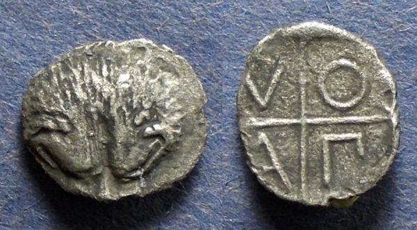 Ancient Coins - Thrace, Pantikapaion 400-375 BC, Hemidrachm