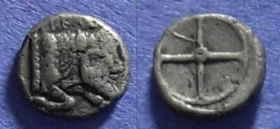 Ancient Coins - Gela, Sicily 480-470 BC, Obol