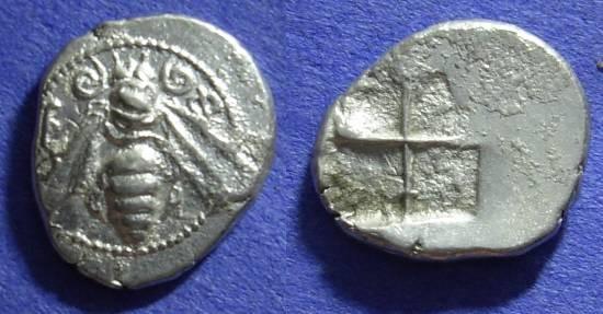 Ancient Coins - Ephesos - Drachm - 500-420 BC