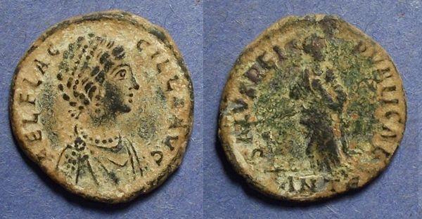 Ancient Coins - Roman Empire, Aelia Flaccilla (Wife of Theodosius) 379-388, AE2