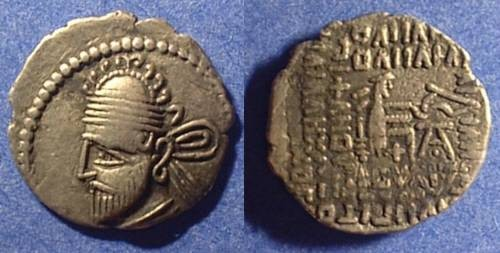 Ancient Coins - Parthian Kingdom - Pakoros II 78-105AD - Drachm