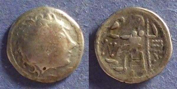 Ancient Coins - Celtic, Danube region Circa 100 BC, Drachm
