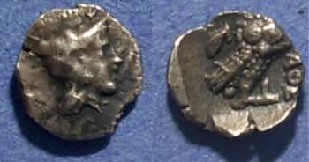 Ancient Coins - Athens (imatative?), Attica Circa 430 BC, Obol