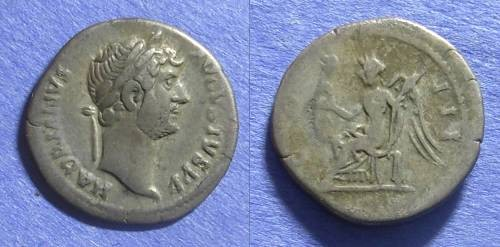 Ancient Coins - Roman Empire Hadrian 117-138 Denarius