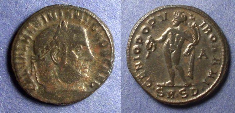 Ancient Coins - Roman Empire – Galerius (Caesar) 293-305 – Follis