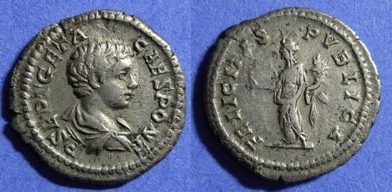 Ancient Coins - Geta (Caesar) 198-208 Denarius