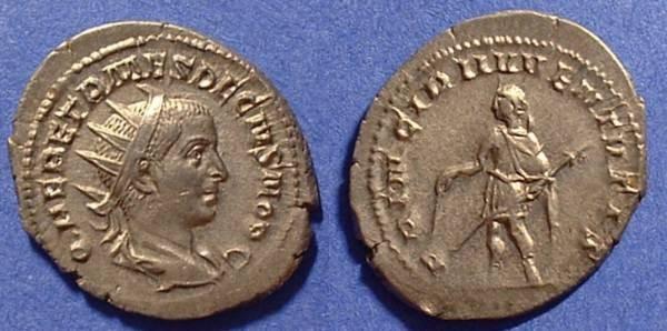 Ancient Coins - Herennius Etruscus (Caesar) 250-1AD Antoninianus