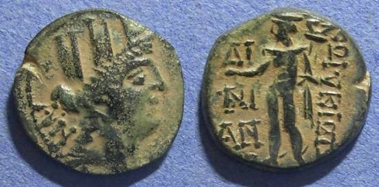 Ancient Coins - Cilicia, Korykos Circa 75 BC, AE19
