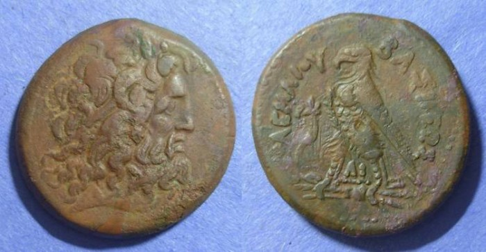 Ancient Coins - Egypt, Ptolemy II 285-246, AE35