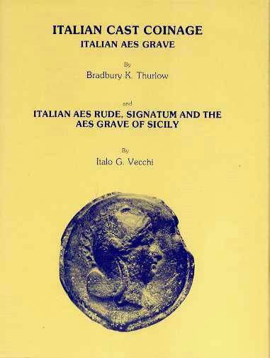 Ancient Coins - Italian Cast Coinage - used, Thurlow & Vecchi 1979 ,