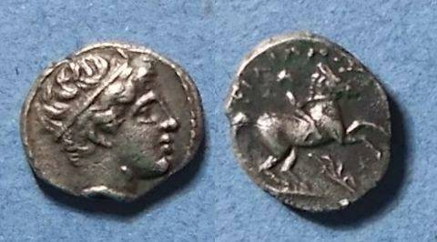 Ancient Coins - Macedonian Kingdom, Philip II Struck 323-315, 1/5 Tetradrachm