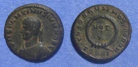 Ancient Coins - Roman Empire, Constantine II (as Caesar) 316-337 AD, AE3