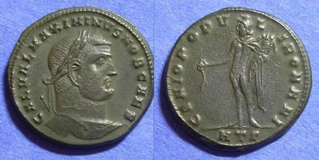 Ancient Coins - Roman Empire – Maximinus II (Caesar) 305-308 – Follis