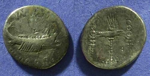 Ancient Coins - Marc Antony - Legionary Denarius 32/31 BC