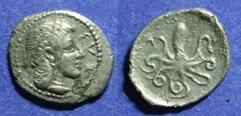 Ancient Coins - Syracuse, Sicily Circa 450 BC, Litra