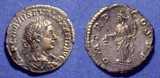 Ancient Coins - Severus Alexander: 222-235 Denarius