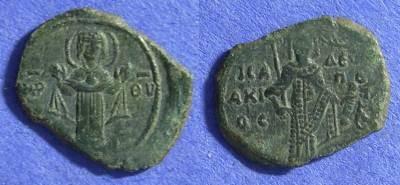 Ancient Coins - Byzantine Empire – Isaac II 1185-95 Tetarteron