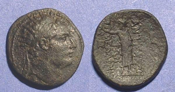 Ancient Coins - Seleucid Kingdom - Antiochos IV 175-164 BC AE-20 Antiocheia ad Daphnen