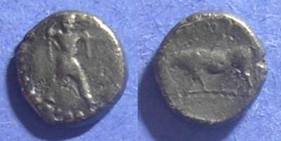 Ancient Coins - Sybaris, Lucania Circa 440 BC, Triobol