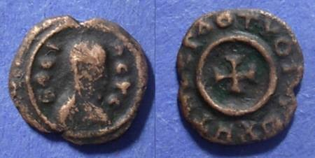 Ancient Coins - Axum, Anonymous 340-425 AD, AE13