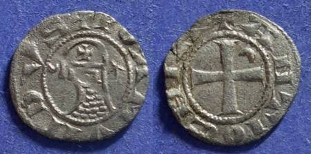 Ancient Coins - Crusader Antioch, Bohemond III 1149-1201, Denier