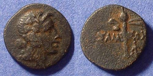 Ancient Coins - Amisos Pontos - AE 18 2nd to 1st Century BC