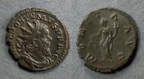 Ancient Coins - Roman Empire, Postumus 259-269, Antoninianus