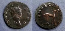 Ancient Coins - Roman Empire, Gallienus 253-268, Antoninianus