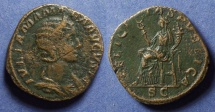 Ancient Coins - Roman Empire, Julia Mamaea 222-235, Sestertius