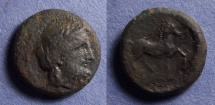 Ancient Coins - Olympia, Elis Circa 250 BC, AE19