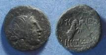 Ancient Coins - Roman Amphipolis, Macedonia 187-34 BC, AE 22