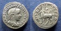 Ancient Coins - Roman Empire, Gordian III 238-244, Denarius