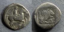 Ancient Coins - Macedonian Kingdom, Perdikkas II 451-413 BC, Tetrobol