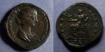 Ancient Coins - Roman Empire, Lucilla 164-182, Sestertius