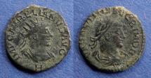 Ancient Coins - Roman Empire, Aurelian with Vabalathus 270-2, Antoninianus