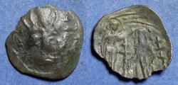 Ancient Coins - Byzantine Empire, Andronicus III 1328-1341, Bronze Trachy