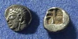 Ancient Coins - Ionia, Kolophon Circa 525 BC, Tetartemorion