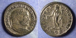 Ancient Coins - Roman Empire, Galerius (as Caesar) 293-305, Follis