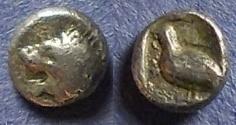 Ancient Coins - Miletos, Ionia Circa 500 BC, Tetartemorion