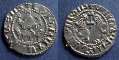 Ancient Coins - Cilician Armenia, Levon 1198-1219, Tram