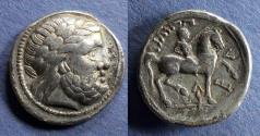 Ancient Coins - Eastern Europe Celts, Philip II Circa 330 BC, Tetradrachm
