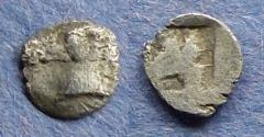 Ancient Coins - Asia minor uncertain,  Circa 450 BC, Tetartemorion