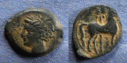 Ancient Coins - Zeugitania, Carthage 400-350 BC, AE16