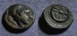 Ancient Coins - Thrace, Messembria Circa 250 BC, AE11