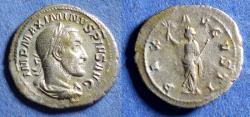 Ancient Coins - Roman Empire, Maximianus 235-8, Silver Denarius